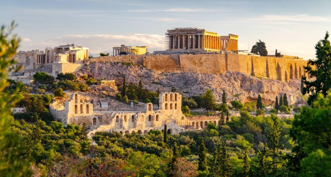 Athene, Paulus en de wijsgeren van de Areopagus - Griekenland