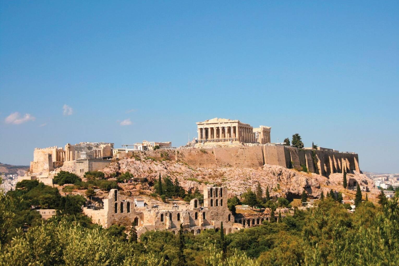 Athene, Paulus en de wijsgeren van de Areopagus - Griekenland - 1