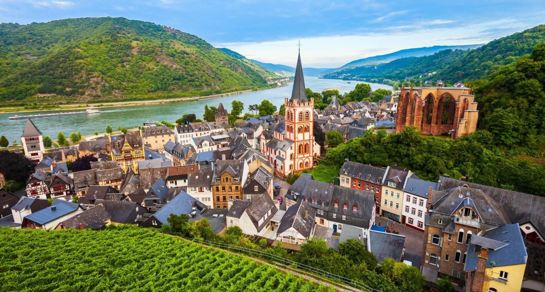 Vierlandencruise naar Zwitserland, Dalvaart - Duitsland - 1