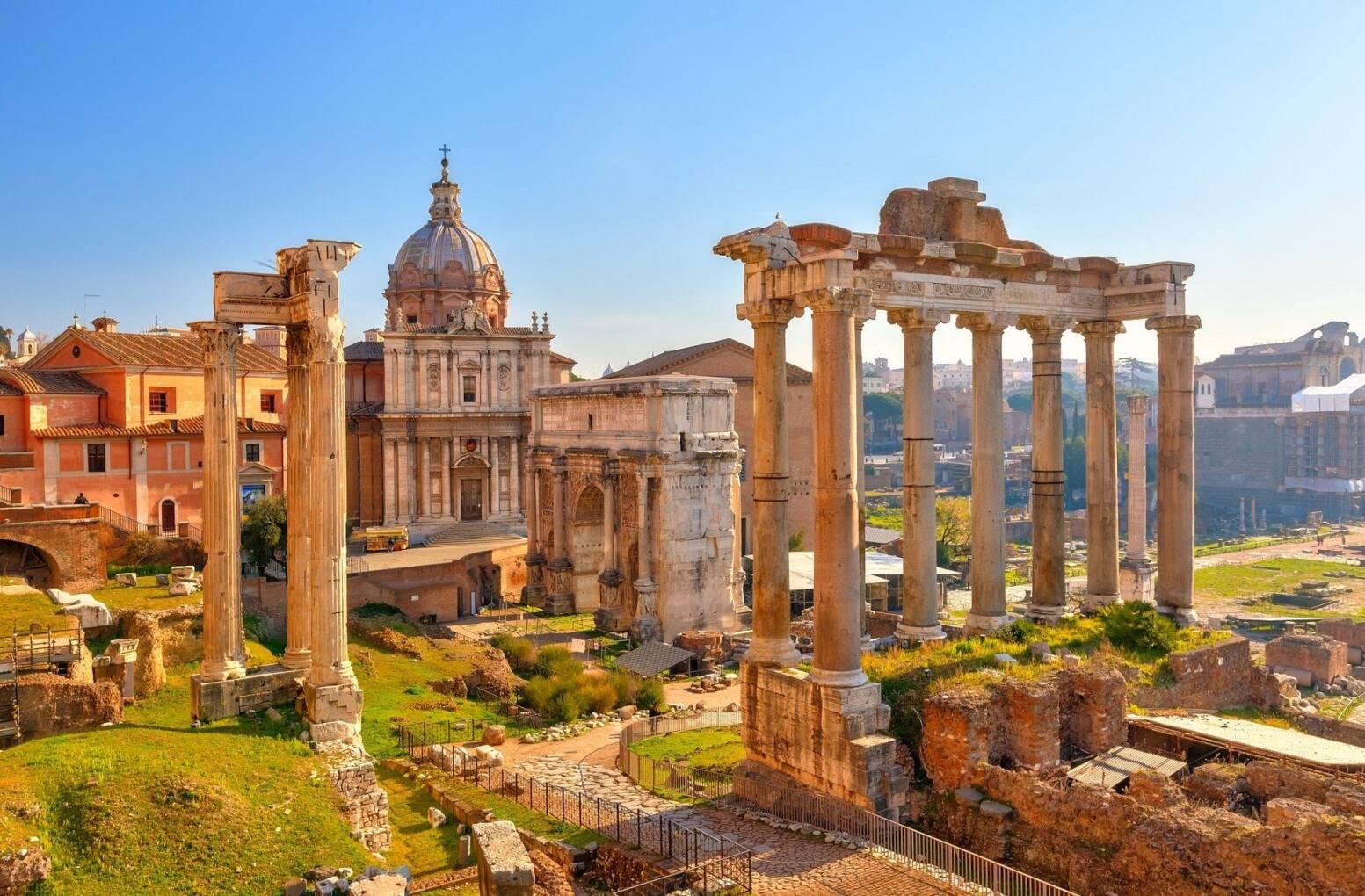 Rome: Van de vroege kerk, apostelen en keizers  - Italië - 1