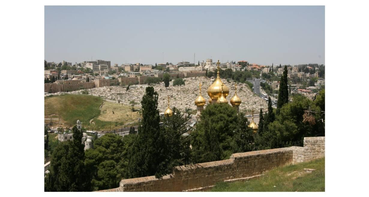 Israël in de herfstvakantie  - IsraelJeruzalem Nieuwe Stad
