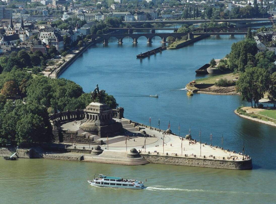 7-daagse Gezinsgids Rijncruise - DuitslandVaren Rüdesheim - Koblenz - Bonn