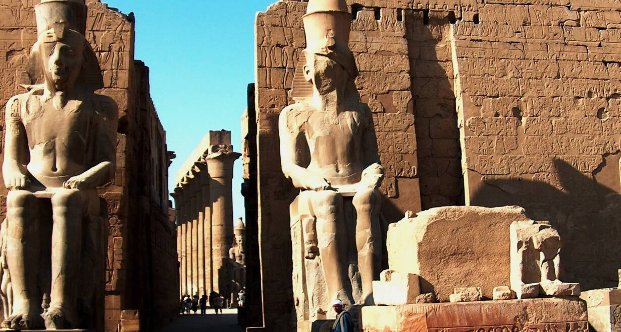 Exodusreis: In de voetsporen van Mozes - EgypteTempels van Luxor en Karnak