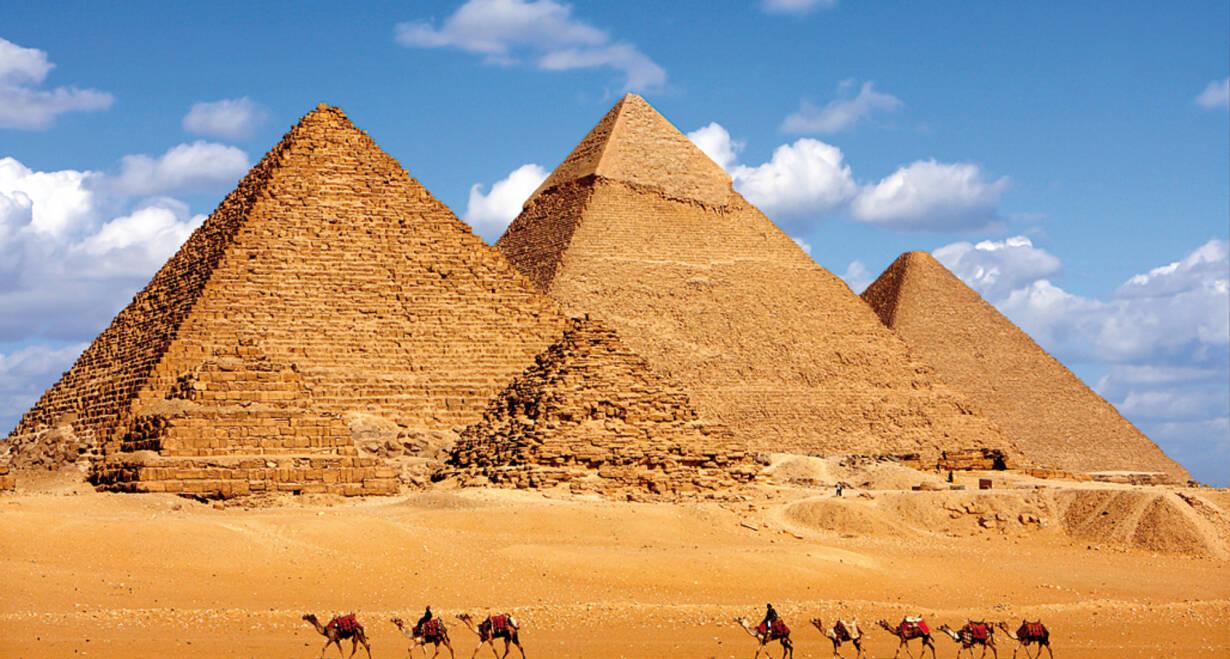 Exodusreis: In de voetsporen van Mozes - EgypteCairo – Piramides van Gizeh en Sakkara