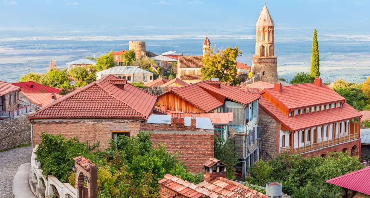 Rondreis Georgië & Armenië: kloosters en Kaukasus - GeorgiëTocht naar wijngebied met o.a. Kacheti – Alaverdi  – Gremi – Sighnaghi