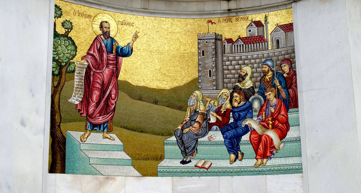 Paulusreis: met bezoek aan Thessaloniki, Korinthe en Athene - GriekenlandPella-Berea-Vergina