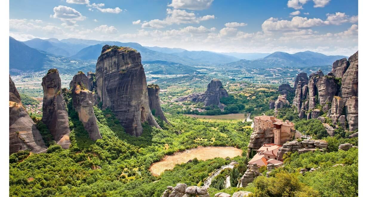 Paulusreis: met bezoek aan Thessaloniki, Korinthe en Athene - GriekenlandMeteorenklooster-Delphi