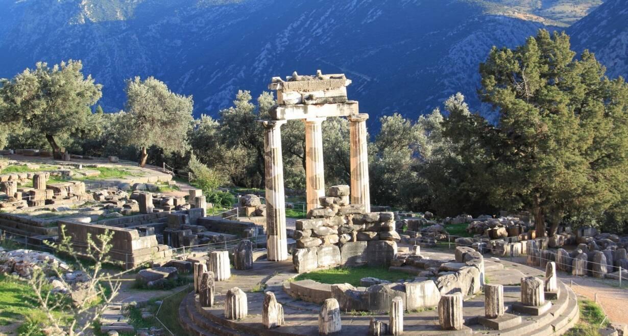 Paulusreis: met bezoek aan Thessaloniki, Korinthe en Athene - GriekenlandDelphi-Ossios Lukas-Tolo