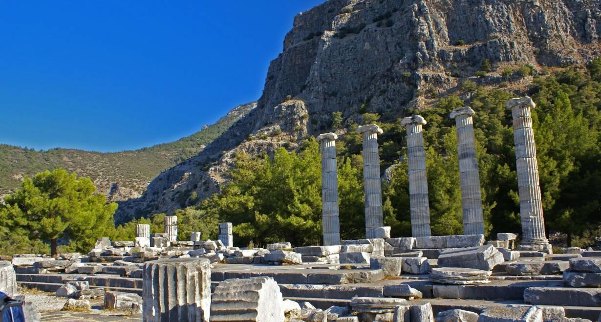 De zeven gemeenten van Klein-Azië - TurkijePriene, Milete en Didyma