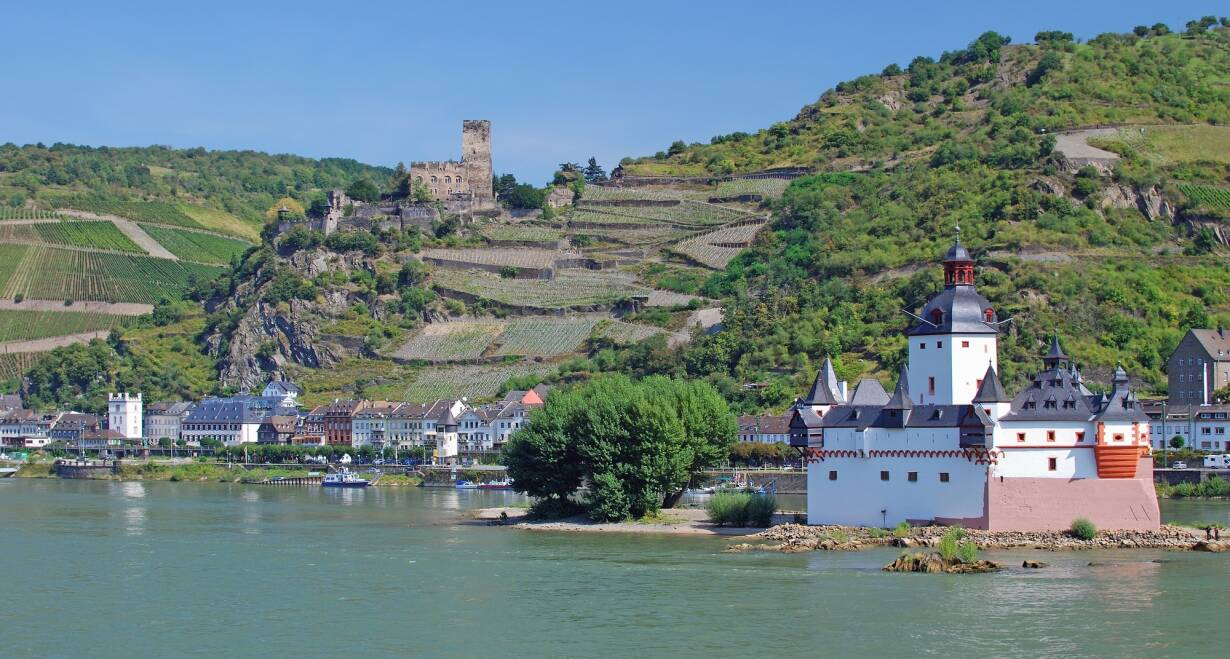 7-daagse Gezinsgids Rijncruise - DuitslandVaren Andernach - Rüdesheim