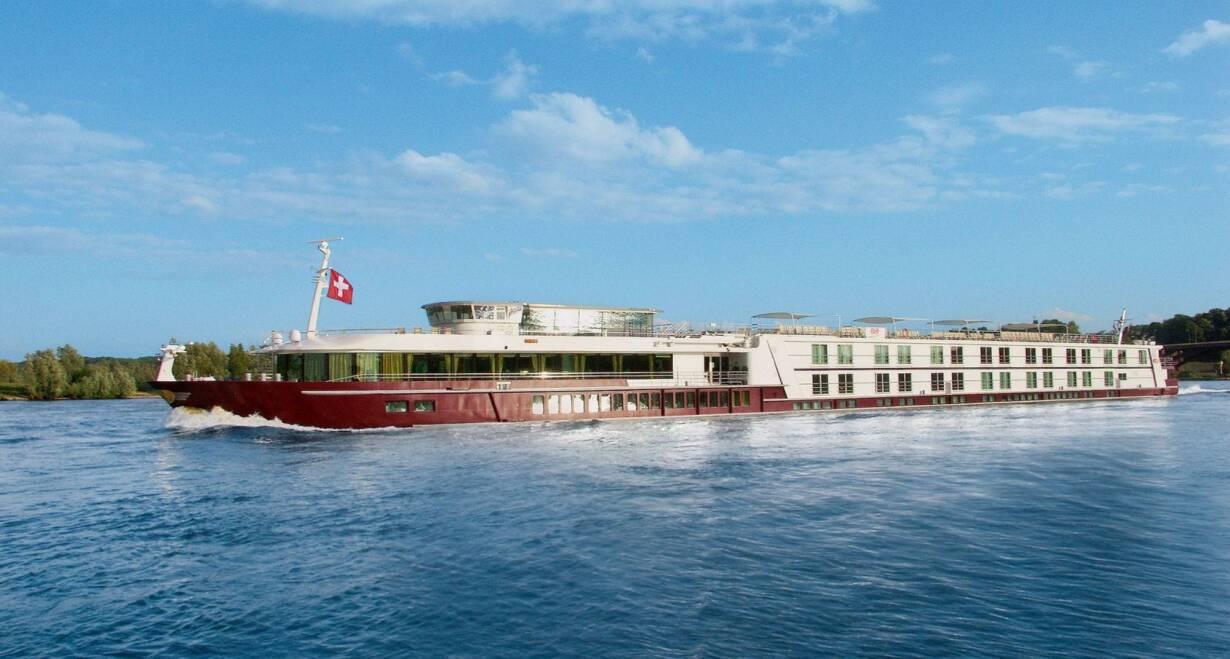 Rhône en Saônecruise - FrankrijkInscheping aan boord van HS Excellence Rhône