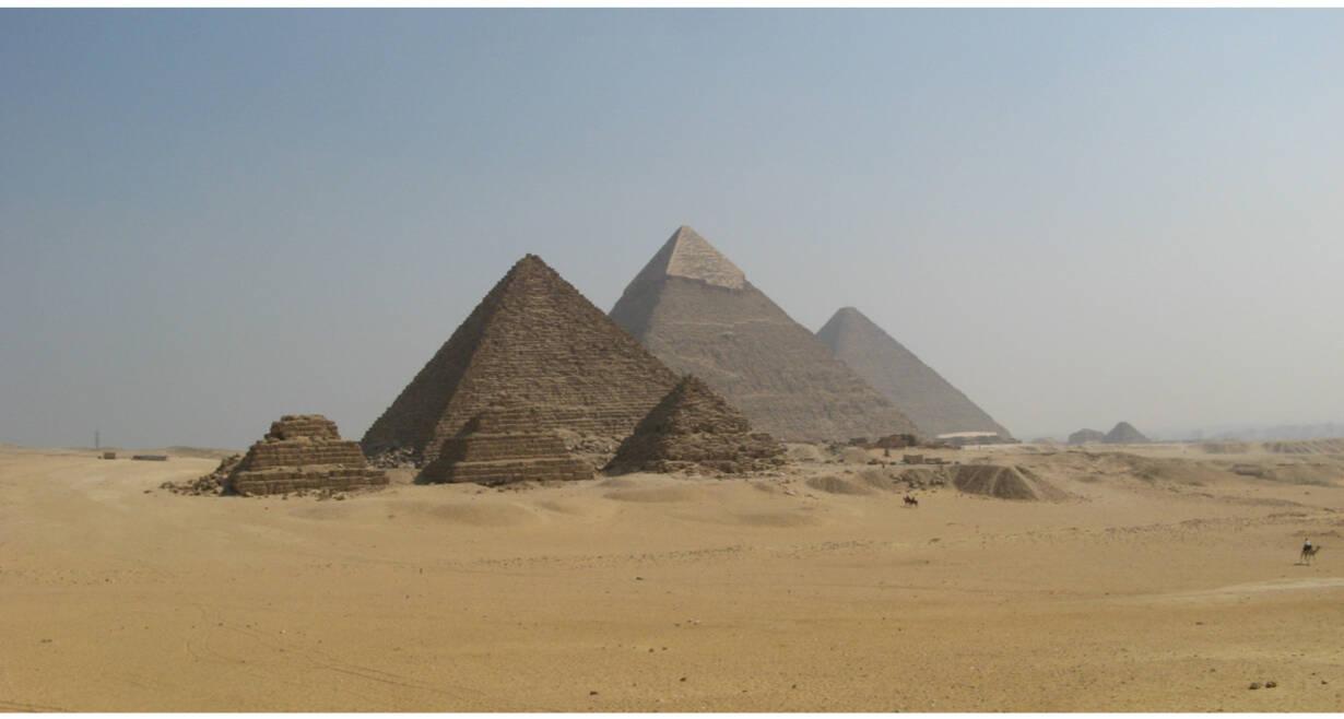 Exodusreis: In de voetsporen van Mozes - EgypteCaïro - Piramides van Gizeh - Sakkara