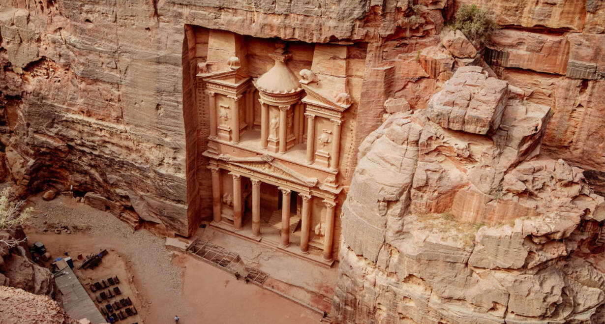 Israël en het Overjordaanse 13 dgn. - IsraelDagtrip naar de rotsstad Petra