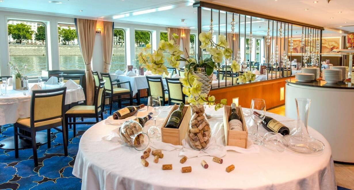 Rhône en Saônecruise - FrankrijkLuxe restaurant