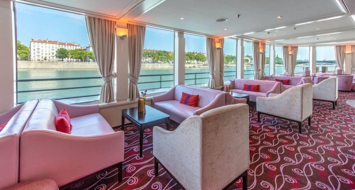 Rhône en Saônecruise - FrankrijkPanorama Lounge