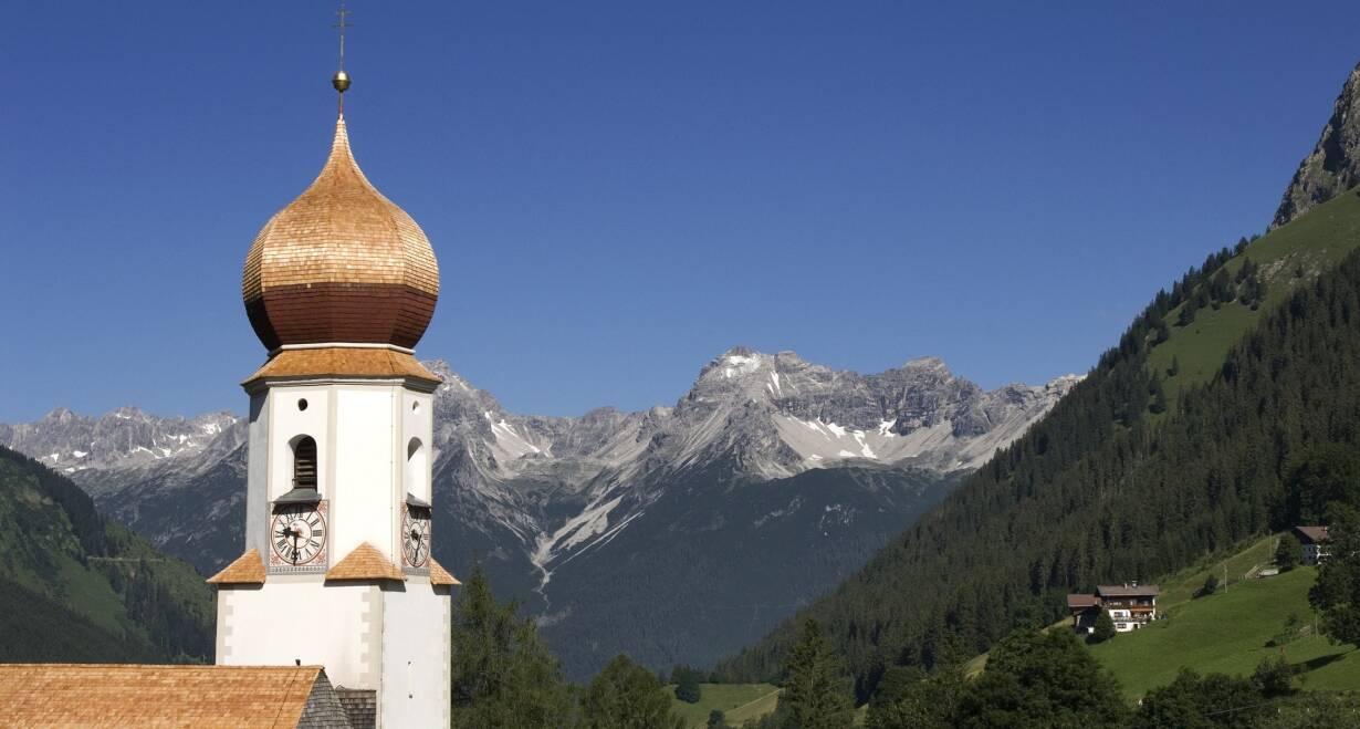 Huttentocht voor gezinnen in het koninklijke Lechtal - OostenrijkAankomst in het pension