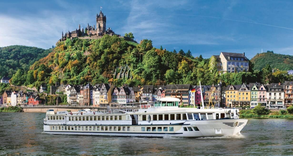 Rijn en Moezel in Herfsttooi - DuitslandHotelschip Swiss Pearl 4**** luxe