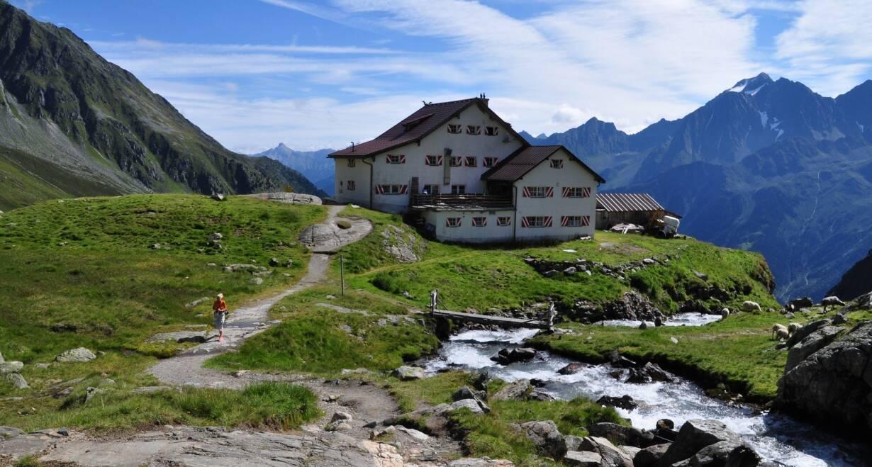 Huttentocht voor gezinnen in het koninklijke Lechtal - OostenrijkWandeling naar de Leutkircher hutte