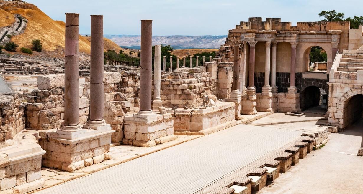 9-daagse rondreis Israël o.l.v. Ds. J.H. Lammers - IsraelBeit Shean - Sachne - Jericho
