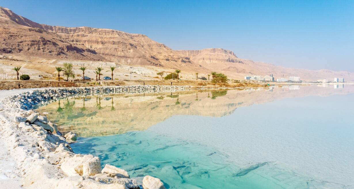 9-daagse rondreis Israël o.l.v. Ds. J.H. Lammers - IsraelMassada - Ein Gedi - Dode Zee - Qumran