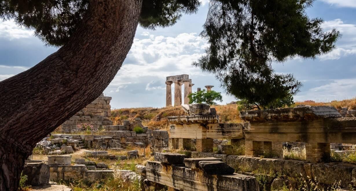 Athene, Paulus en de wijsgeren van de Areopagus - GriekenlandKorinthe en Mycene