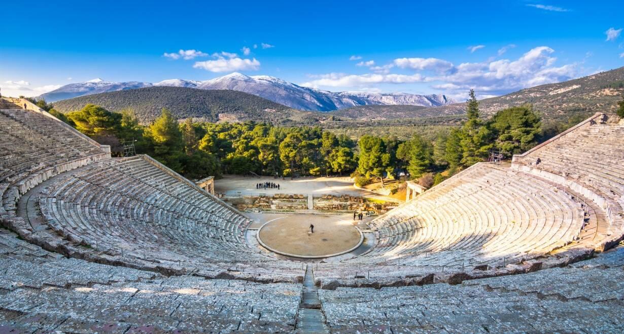 Athene, Paulus en de wijsgeren van de Areopagus - GriekenlandPeloponnesos tour
