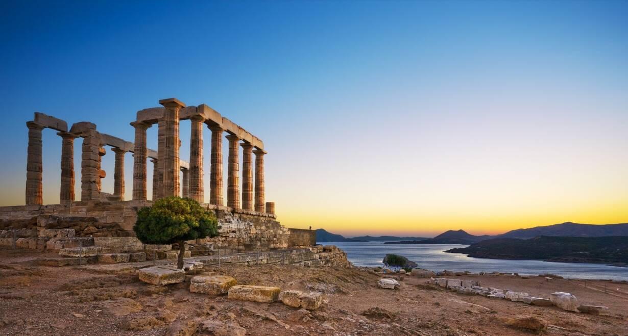 Athene, Paulus en de wijsgeren van de Areopagus - GriekenlandOptionele excursie Kaap Sounion, terugreis naar Amsterdam