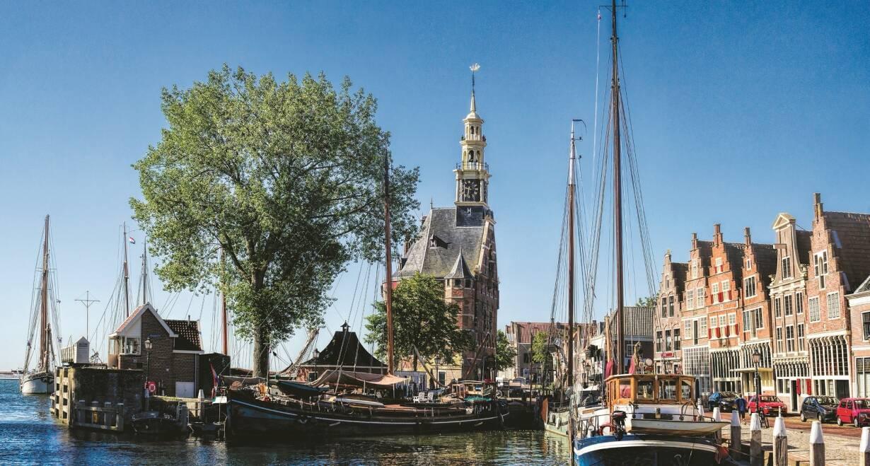 6-daagse cruise historisch Holland, VOC & Hanzesteden - NederlandInscheping Rotterdam - varen naar Hoorn