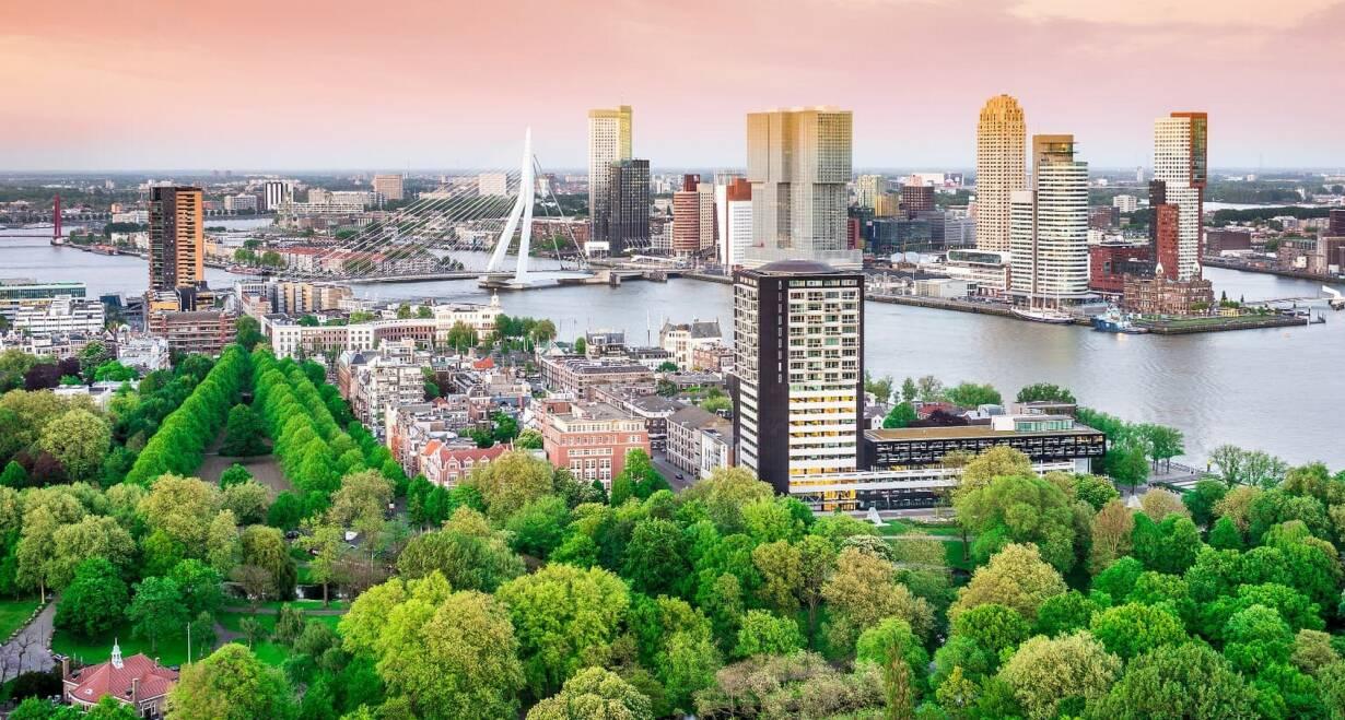 6-daagse cruise historisch Holland, VOC & Hanzesteden - NederlandOntscheping in Rotterdam