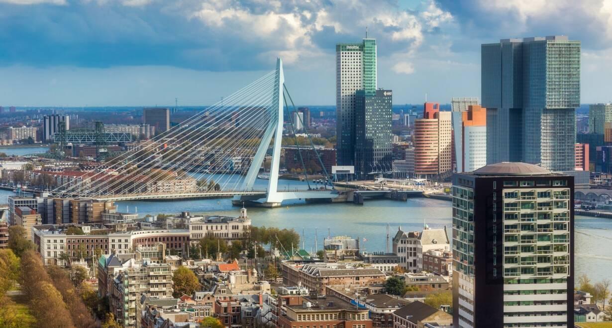 15-daagse Vierlandencruise naar Basel in Zwitserland, Berg- en Dalvaart - DuitslandRotterdam – Düsseldorf