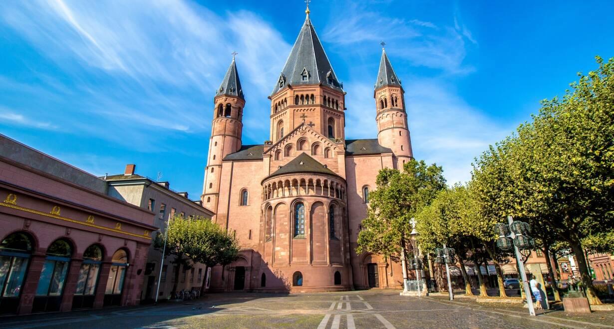 15-daagse Vierlandencruise naar Basel in Zwitserland, Berg- en Dalvaart - DuitslandMainz
