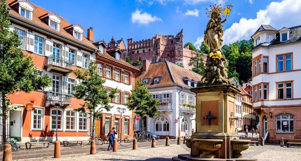 15-daagse Vierlandencruise naar Basel in Zwitserland, Berg- en Dalvaart - DuitslandMainz – Mannheim – Speyer – Straatsburg