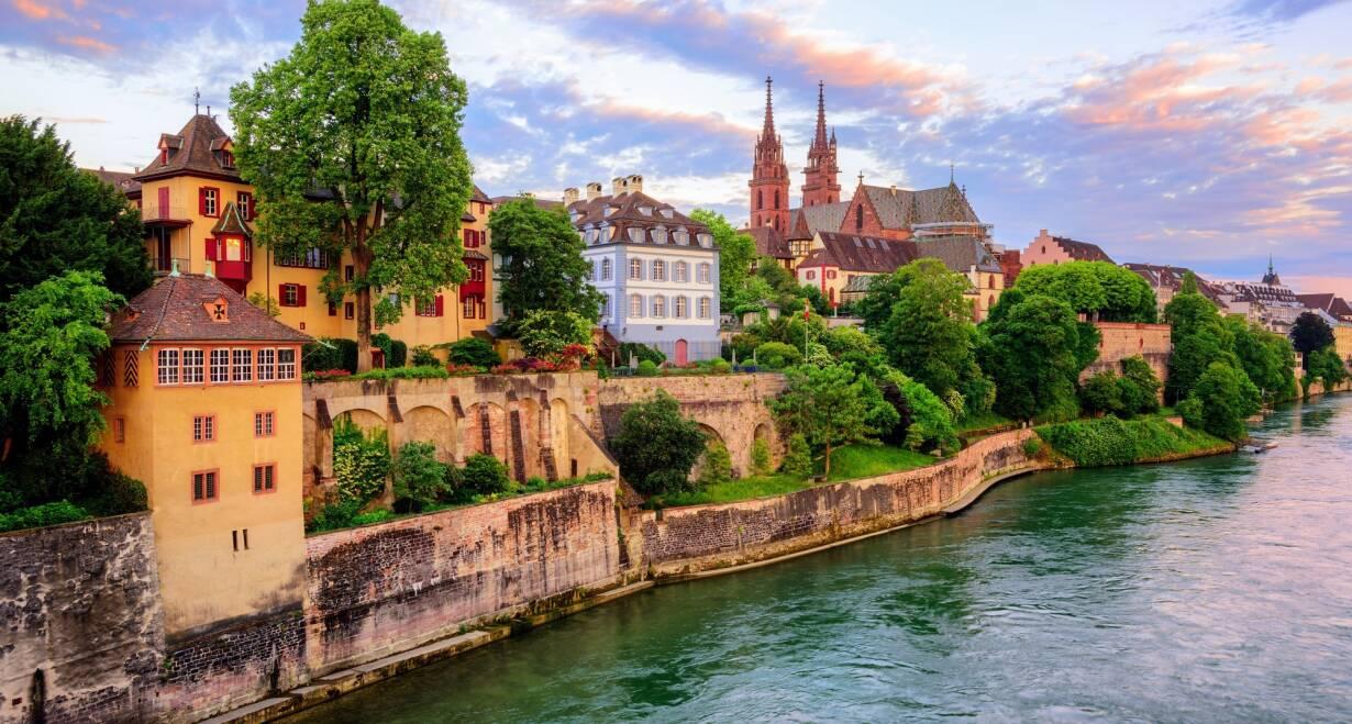15-daagse Vierlandencruise naar Basel in Zwitserland, Berg- en Dalvaart - DuitslandStraatsburg – Basel