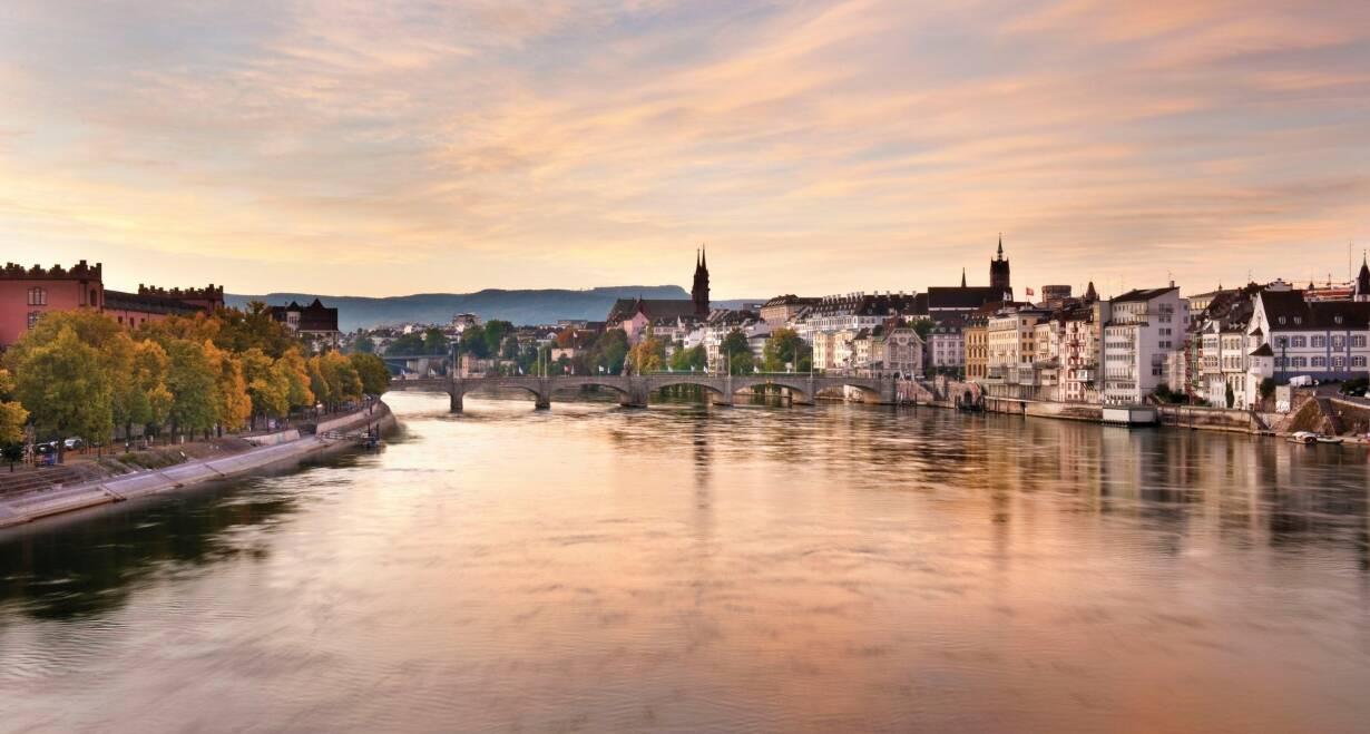 15-daagse Vierlandencruise naar Basel in Zwitserland, Berg- en Dalvaart - DuitslandBasel