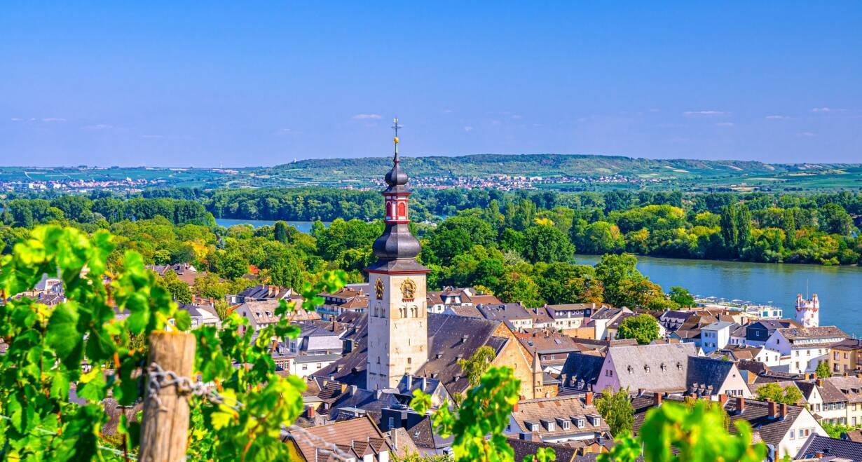 15-daagse Vierlandencruise naar Basel in Zwitserland, Berg- en Dalvaart - DuitslandSpeyer – Rüdesheim