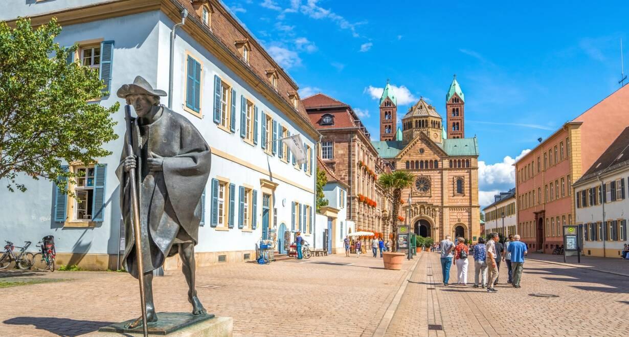 Vierlandencruise naar Zwitserland, Dalvaart - DuitslandStraatsburg – Speyer