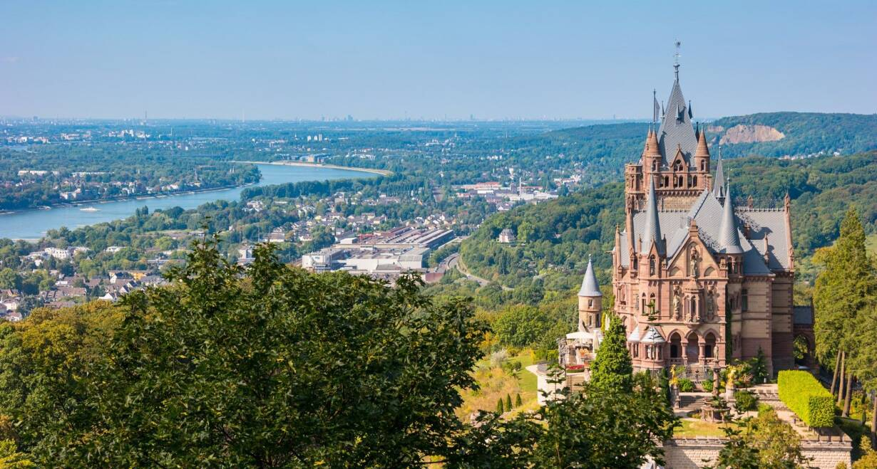 Vierlandencruise naar Zwitserland, Dalvaart - DuitslandKoblenz – Andernach – Bonn – Keulen