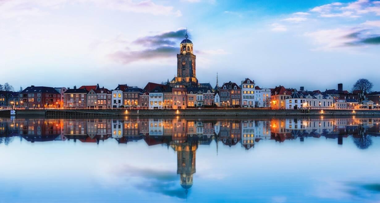 7-daagse cruise historisch Holland, VOC & Hanzesteden - NederlandWijk bij Duurstede – Doesburg – Deventer