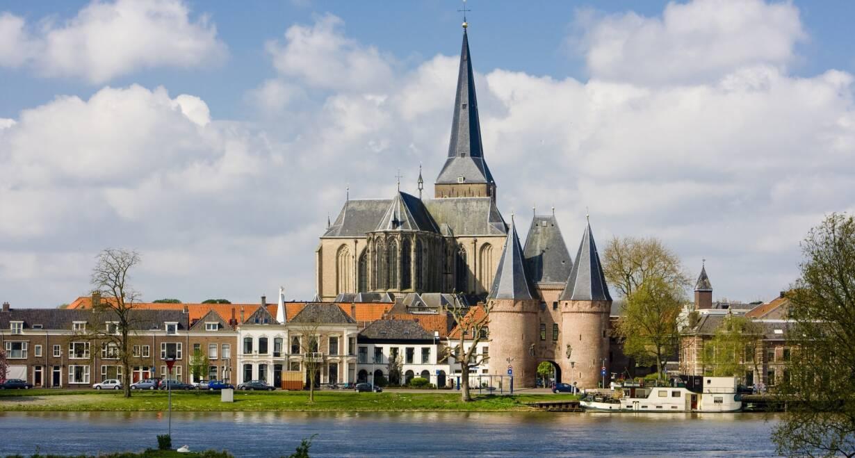 7-daagse cruise historisch Holland, VOC & Hanzesteden - NederlandDeventer – Kampen