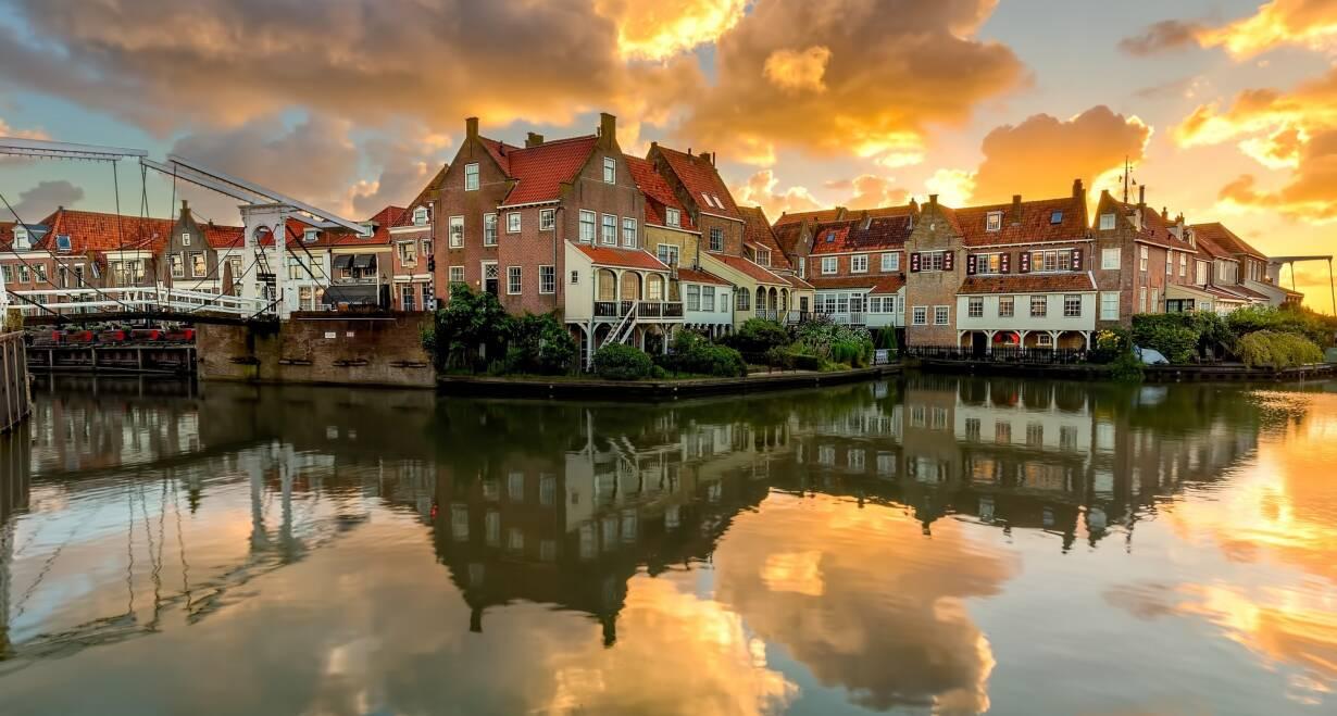 7-daagse cruise historisch Holland, VOC & Hanzesteden - NederlandKampen – Enkhuizen – Hoorn