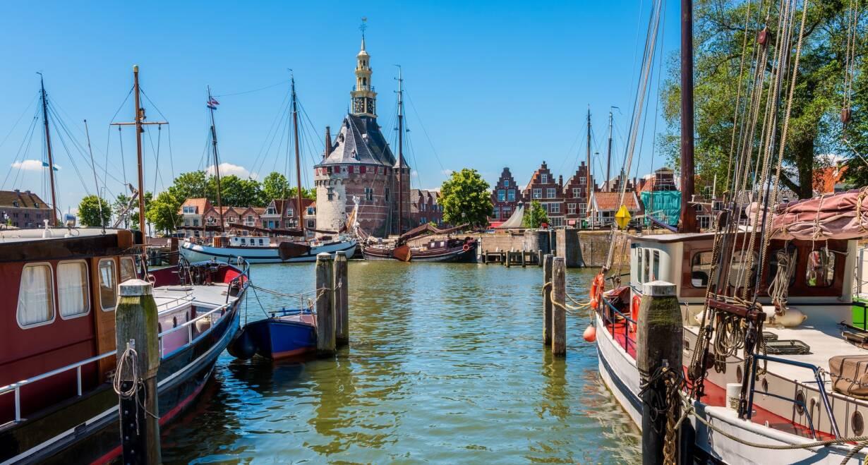 7-daagse cruise historisch Holland, VOC & Hanzesteden - NederlandHoorn