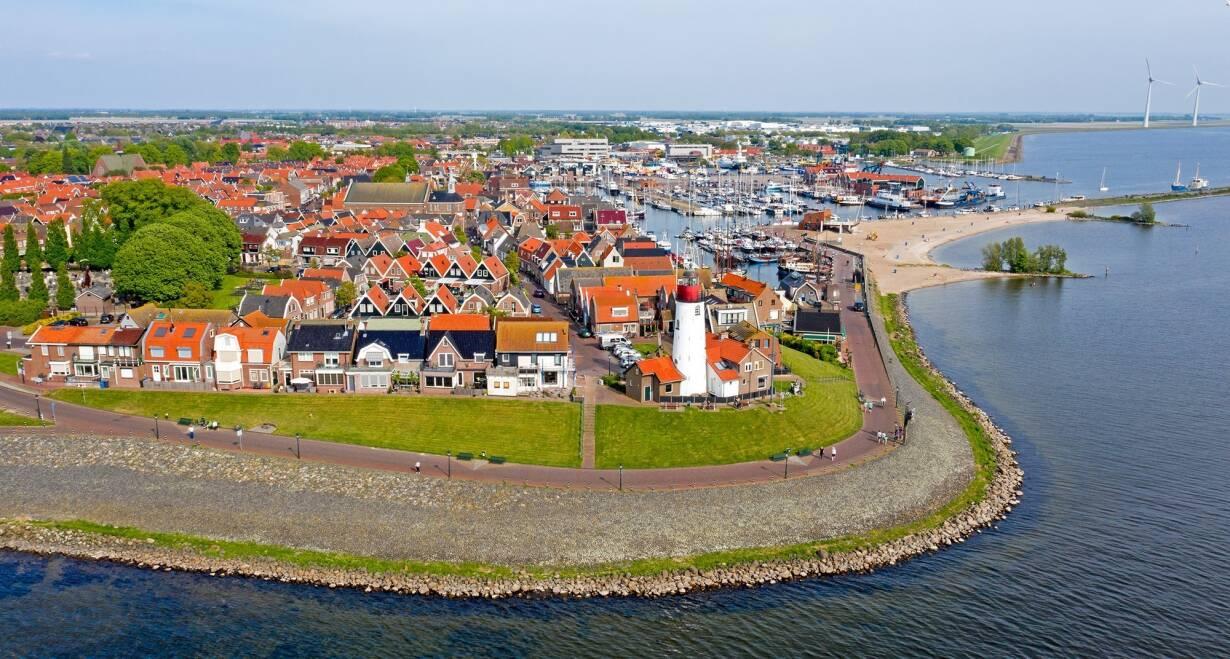 7-daagse cruise historisch Holland, VOC & Hanzesteden - NederlandHoorn – Urk